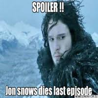 Reasons why Jon Snow Ain't Really Dead
